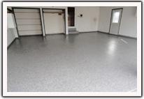 Residential Decorative Concrete - Garage