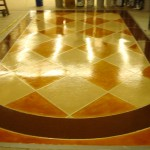 Stained Concrete Hilliard, OH   Re-Deck of Central Ohio