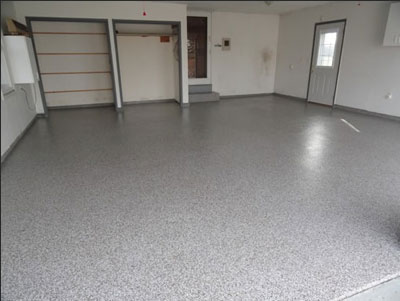 Concrete Garage Floor - Garage (after)