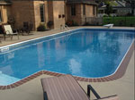 Stamped Concrete Pool Deck, Columbus Ohio
