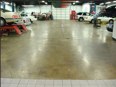 Concrete Showroom Floors Westerville, Ohio