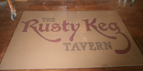 Rusty Keg Tavern Wood Stained Concrete Floor (WoodCrete)