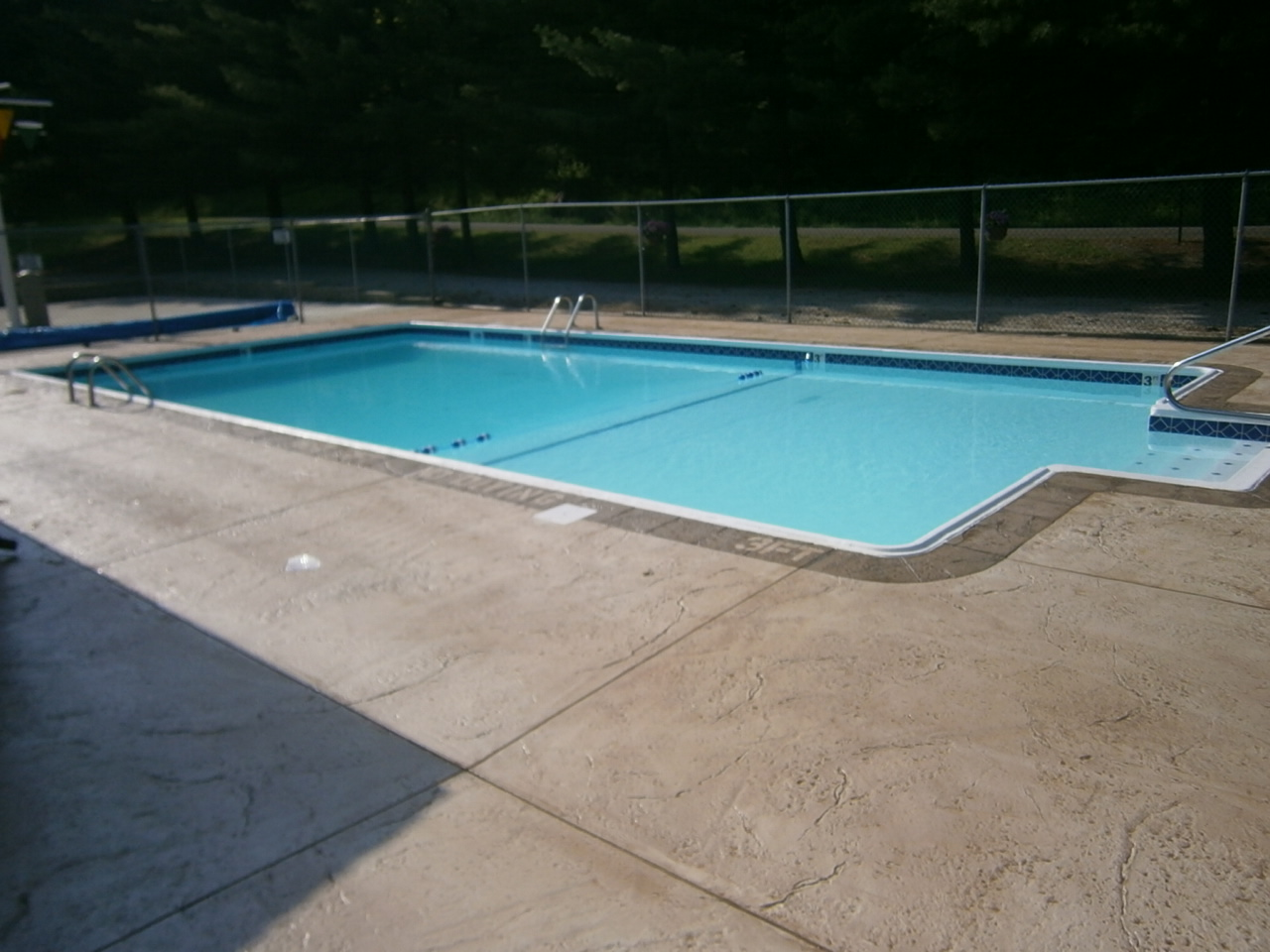 Concrete Pool Decks Photo Gallery Pool Decks Gallery  Redeck Of Central Ohio  Decorative Concrete