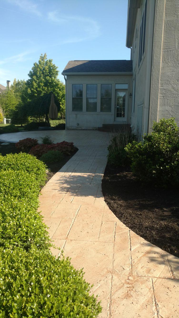 Stamped Concrete Overlay Columbus, Ohio | Redeck Of Central Ohio