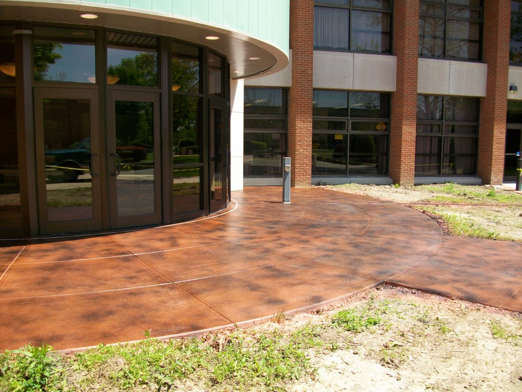Stained Concrete | Dublin Ohio | Re-Deck of Central Ohio