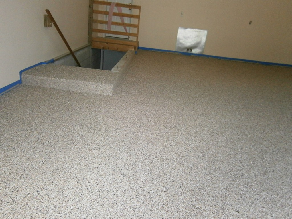 Epoxy Flake Flooring | Columbus Ohio | Re-Deck of Central Ohio