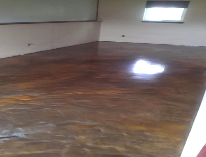Marble Epoxy Flooring | Columbus Ohio | Re-Deck of Central Ohio