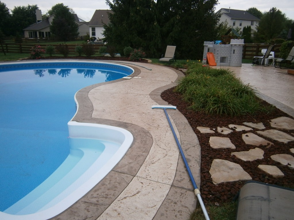 Stamped Concrete | Dublin Ohio | Re-Deck of Central Ohio