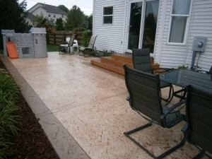 Stamped Concrete Dublin, OH | Re-Deck of Central Ohio