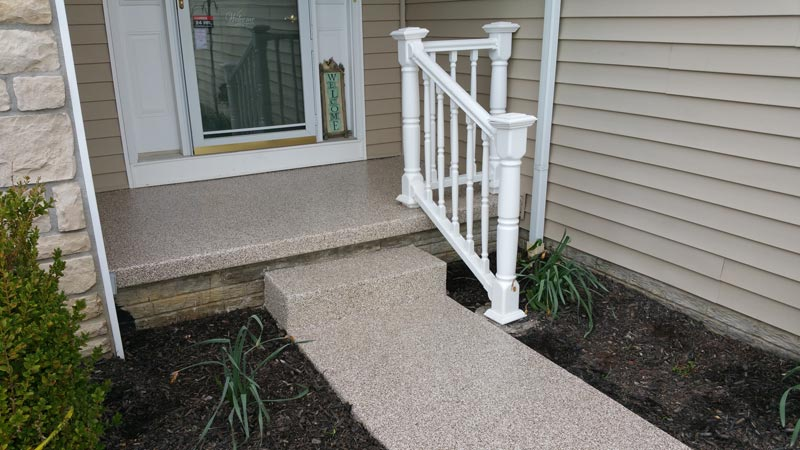 Graniflex Concrete Resurfacing | Hilliard Ohio | Re-Deck of Central Ohio
