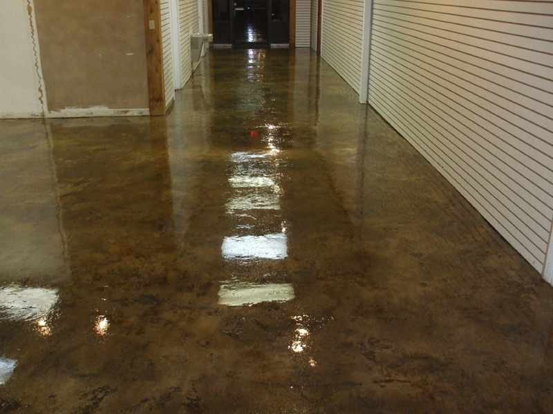 Slate Stained Concrete | Dublin Ohio | Re-Deck of Central Ohio