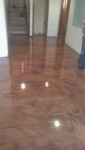 Stained Concrete Columbus, OH   Re-Deck of Central Ohio