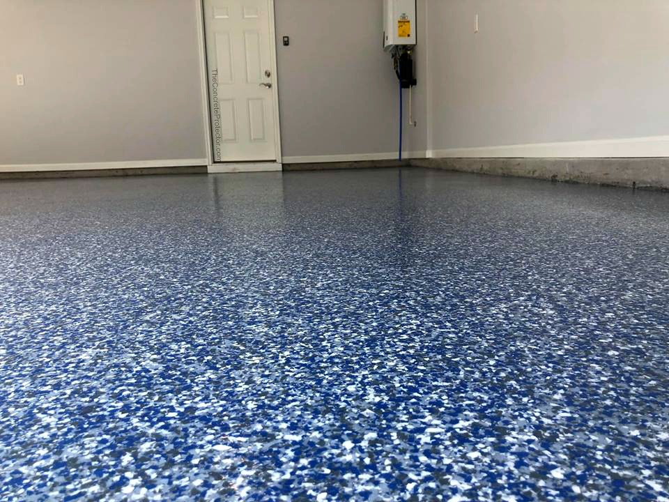 Epoxy Flake Flooring | ReDeck of Central Ohio - 7