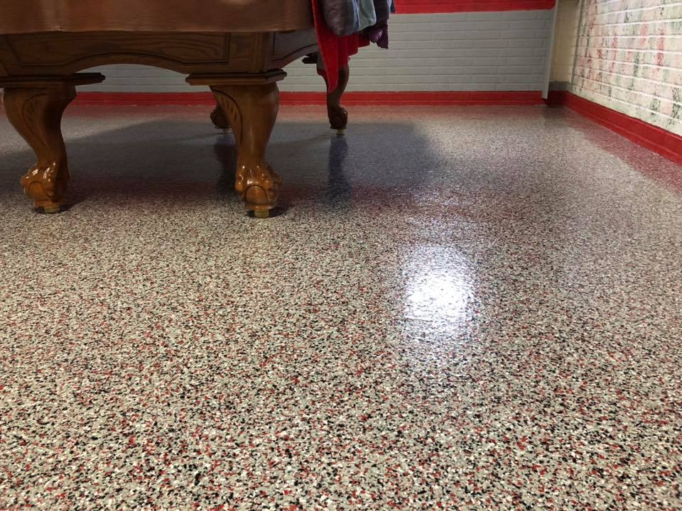 Epoxy Flake Flooring | ReDeck of Central Ohio - 8