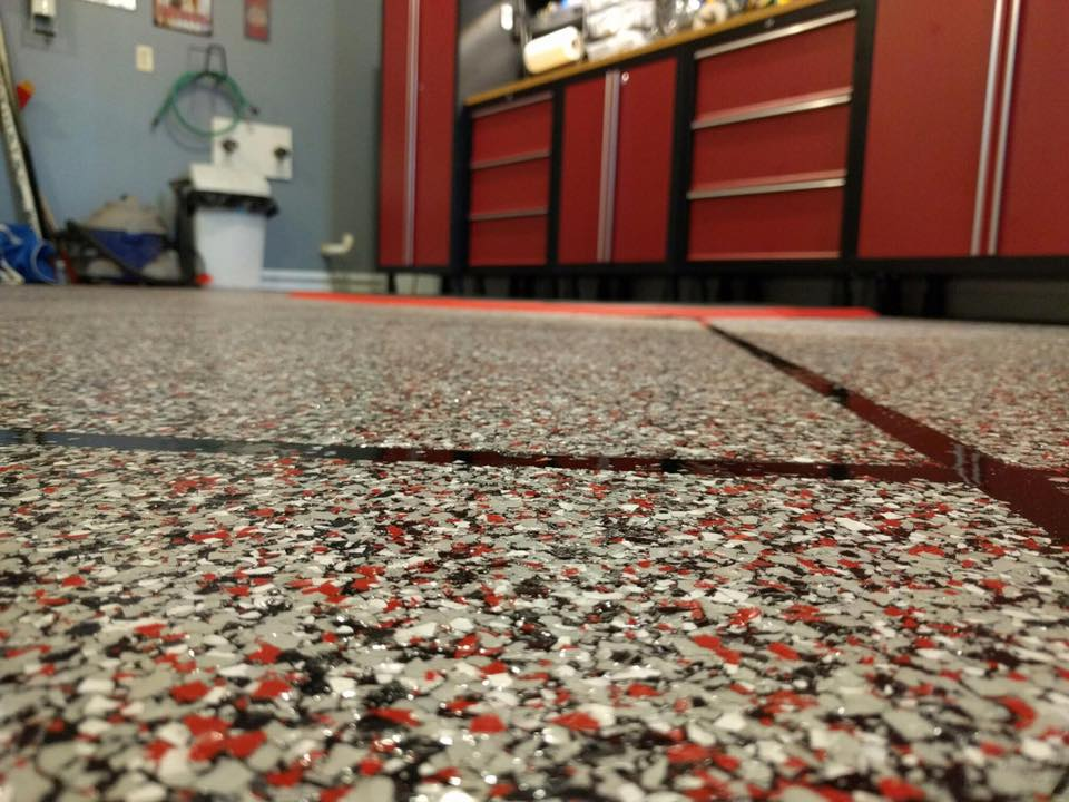 Epoxy Flake Flooring | ReDeck of Central Ohio - 9
