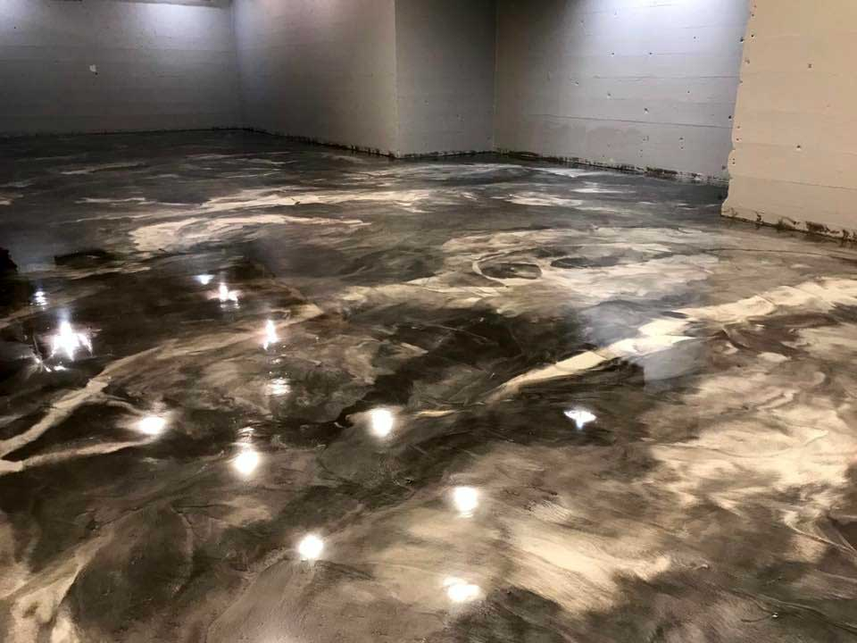 Marble Epoxy Flooring | Dublin Ohio | Re-Deck of Central Ohio