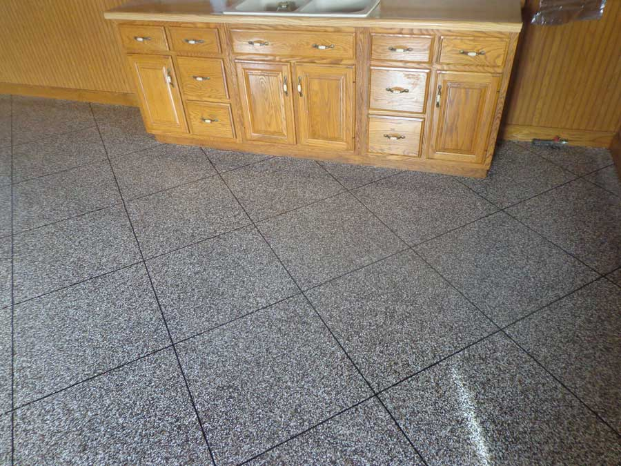 Epoxy Flake Flooring | ReDeck of Central Ohio - 4