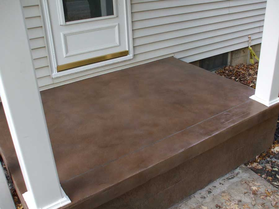 Stained Concrete | Delaware Ohio | Re-Deck of Central Ohio