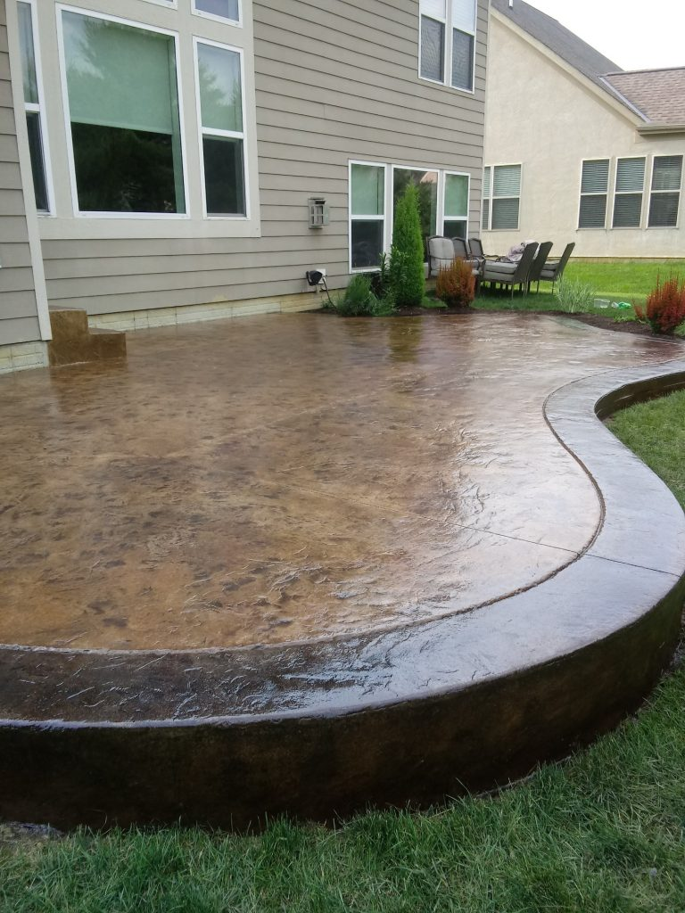 Stamped Concrete | Re-Deck of Central Ohio